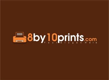 #120 for Design a Logo for 8by10prints.com af adrianusdenny
