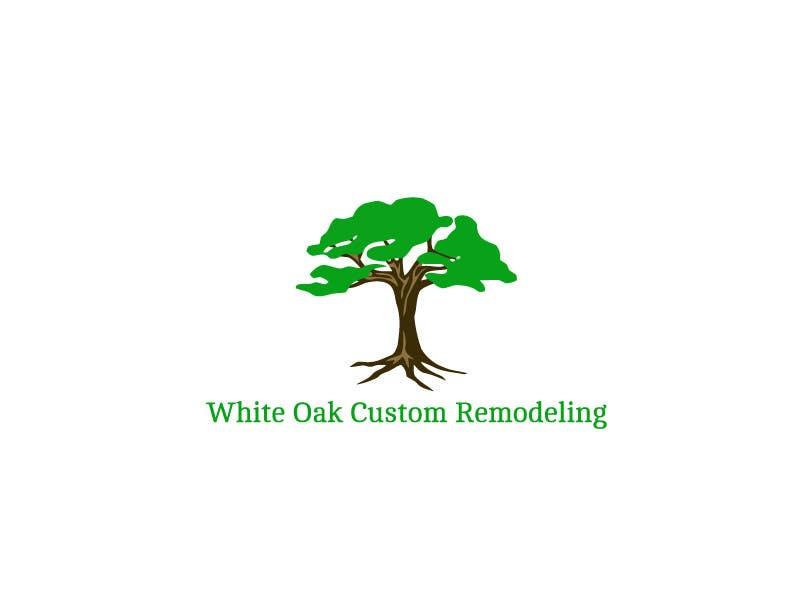 Kilpailutyö #73 kilpailussa Design a Logo for White Oak Custom Remodeling