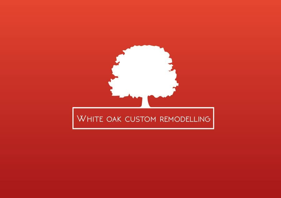 Konkurrenceindlæg #64 for Design a Logo for White Oak Custom Remodeling