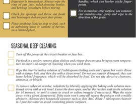 #12 for Design a brochure for a maid company by NeggDesign