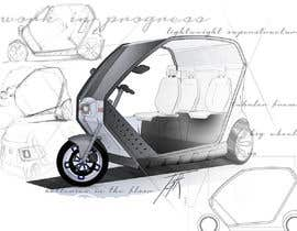 #13 untuk Industrial Concept Product Design for a Three-Wheeler EV oleh stoth