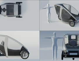 Nro 7 kilpailuun Industrial Concept Product Design for a Three-Wheeler EV käyttäjältä v4f4t4