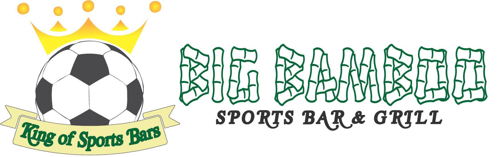 Inscrição nº 6 do Concurso para Design a Logo for my Sports Bars