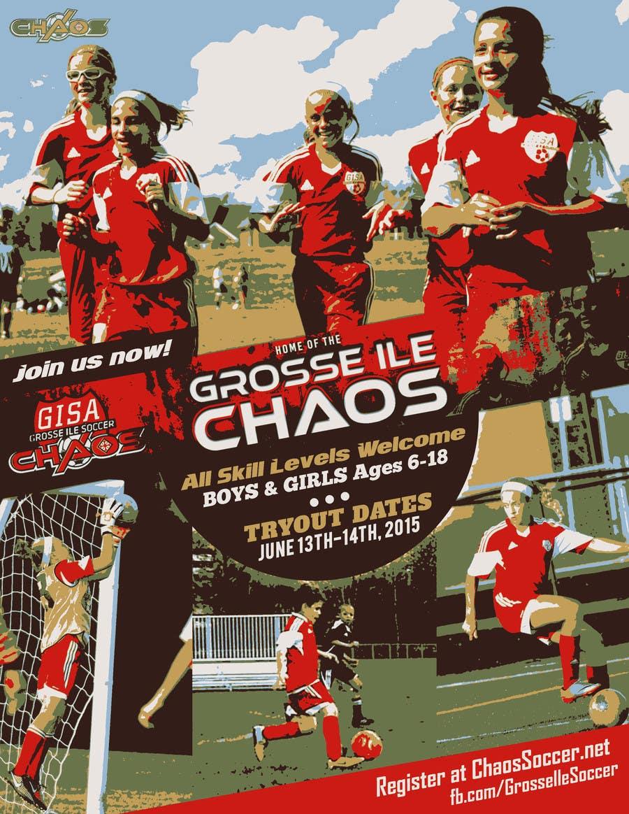 Konkurrenceindlæg #                                        17                                      for                                         Alter a Image for youth soccer flyer