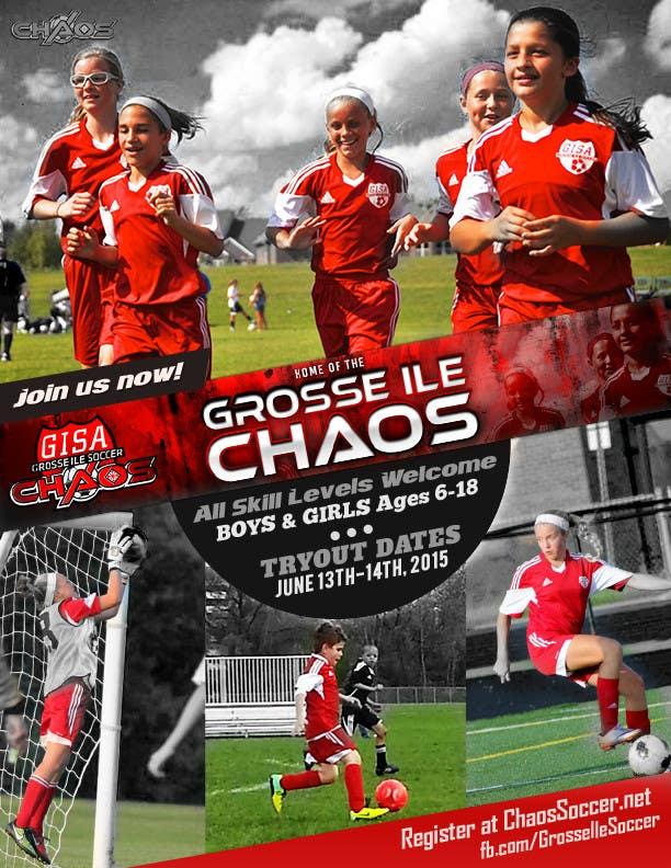 Konkurrenceindlæg #                                        27                                      for                                         Alter a Image for youth soccer flyer