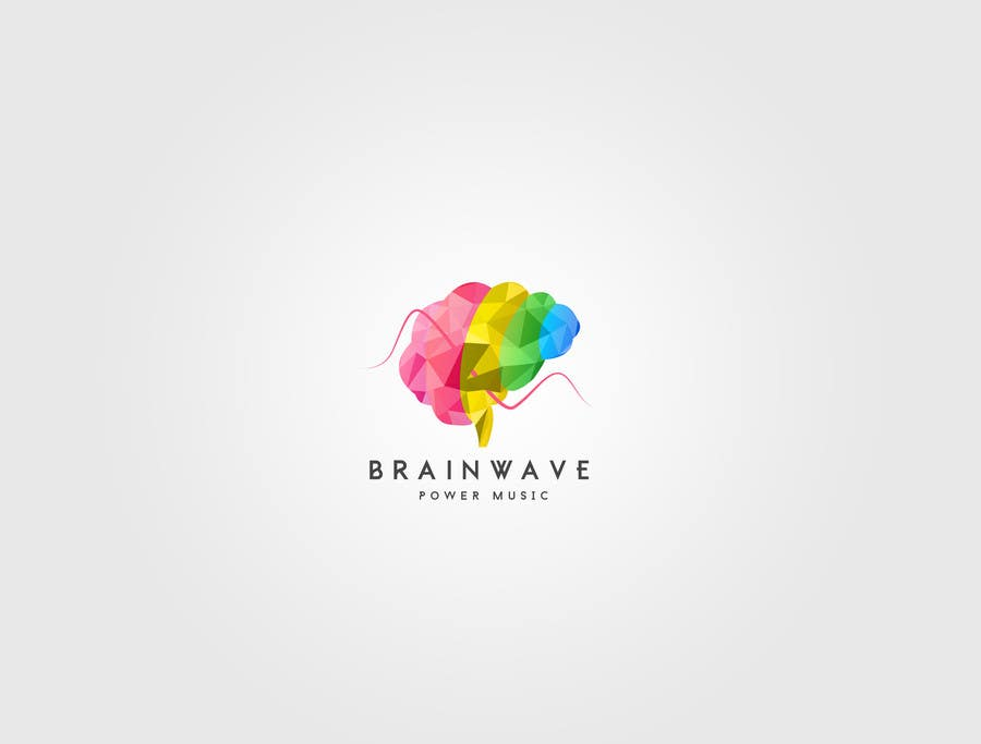 Konkurrenceindlæg #1 for Design a Logo for Brainwave Power Music