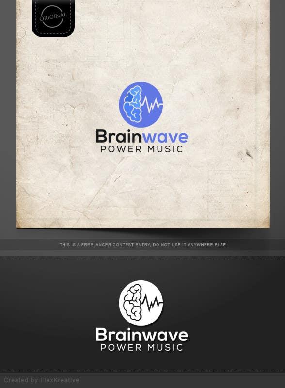 Inscrição nº 33 do Concurso para Design a Logo for Brainwave Power Music
