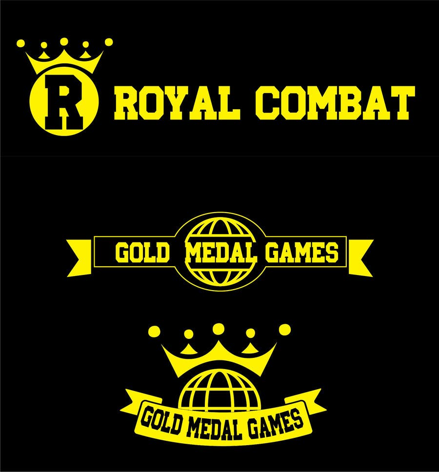 Contest Entry #                                        21                                      for                                         Design a Logo for Gold Medal Games and Royal Combat