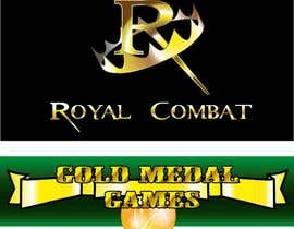 #24 para Design a Logo for Gold Medal Games and Royal Combat por flowkai