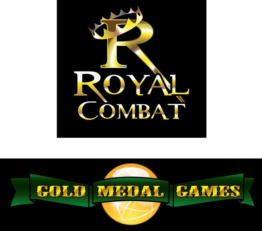 Contest Entry #                                        29                                      for                                         Design a Logo for Gold Medal Games and Royal Combat