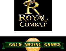 #39 para Design a Logo for Gold Medal Games and Royal Combat por flowkai
