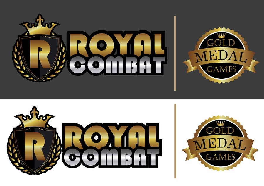 Contest Entry #                                        31                                      for                                         Design a Logo for Gold Medal Games and Royal Combat