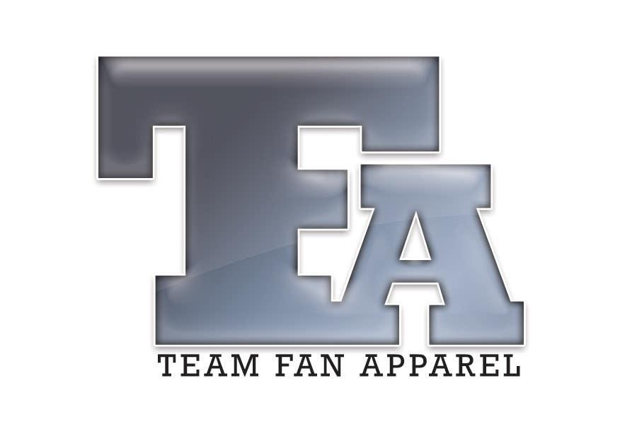 Конкурсная заявка №                                        100                                      для                                         Logo Design for TeamFanApparel.com