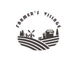 #188 para Farmers Village Logo por Sunish2809