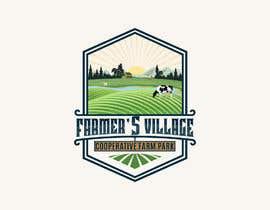 #185 para Farmers Village Logo por faizahmed19888