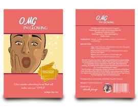 #12 for Package Labels: Stylish Layout Needed for a New Organic Cosmetic Face Mask by Mazid952