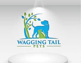 #63 for Logo Design for Wagging Tail Pets by litonmiah3420