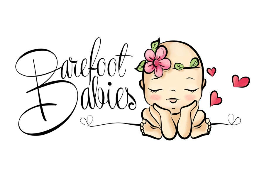 Contest Entry #                                        30                                      for                                         Colour or Re-design Logo for Barefoot Babies Boutique