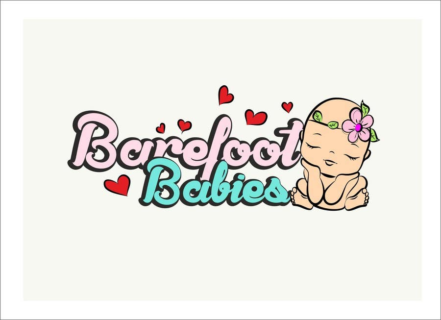 Contest Entry #                                        15                                      for                                         Colour or Re-design Logo for Barefoot Babies Boutique