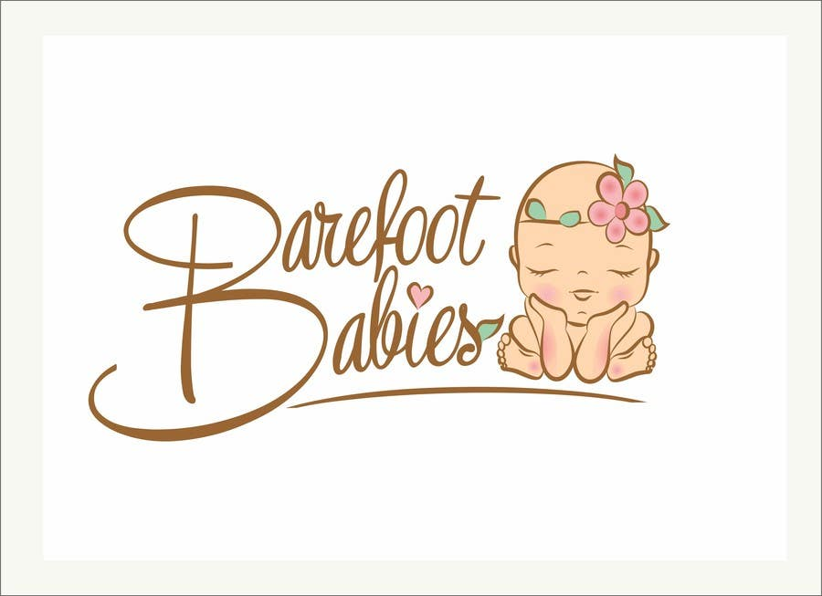 Contest Entry #                                        26                                      for                                         Colour or Re-design Logo for Barefoot Babies Boutique