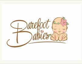 #26 untuk Colour or Re-design Logo for Barefoot Babies Boutique oleh MaxMi