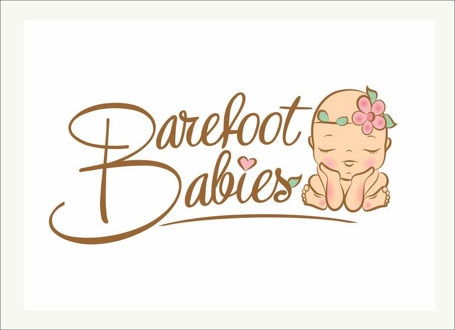 Contest Entry #                                        27                                      for                                         Colour or Re-design Logo for Barefoot Babies Boutique