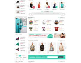 #69 for Design a Website Homepage Mockup for a Website by MadniInfoway01