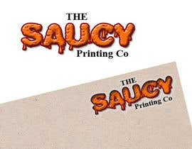 "#8 for Design a Logo for "" The Saucy Printing Co. "" by uklogodesign"