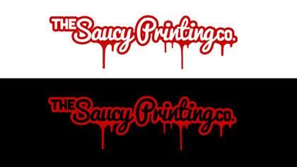 """Nro 25 kilpailuun Design a Logo for """" The Saucy Printing Co. """" käyttäjältä picitimici"""