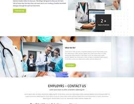 #392 for Healthcare/IT Staffing Website Design by ha4168108
