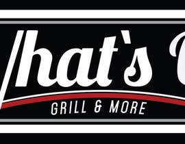 #44 untuk Design a Logo for brand Called (What's Up) grill & More oleh felipenogueira90