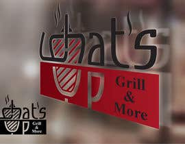 #29 untuk Design a Logo for brand Called (What's Up) grill & More oleh starikma
