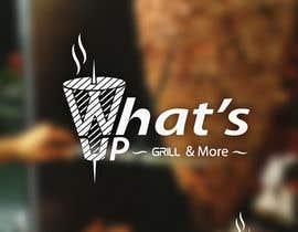 #43 untuk Design a Logo for brand Called (What's Up) grill & More oleh starikma