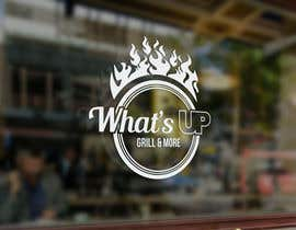 #14 untuk Design a Logo for brand Called (What's Up) grill & More oleh tinaszerencses