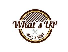 #22 untuk Design a Logo for brand Called (What's Up) grill & More oleh tinaszerencses