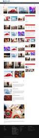 Nro 23 kilpailuun Design a Website for Sports Skills Video Uploading Site käyttäjältä TECHRONYX
