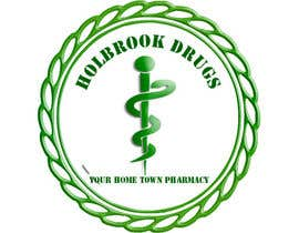 #9 for Design a Logo for Holbrook Drugs af Wormish