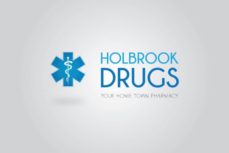 Konkurrenceindlæg #                                        14                                      for                                         Design a Logo for Holbrook Drugs
