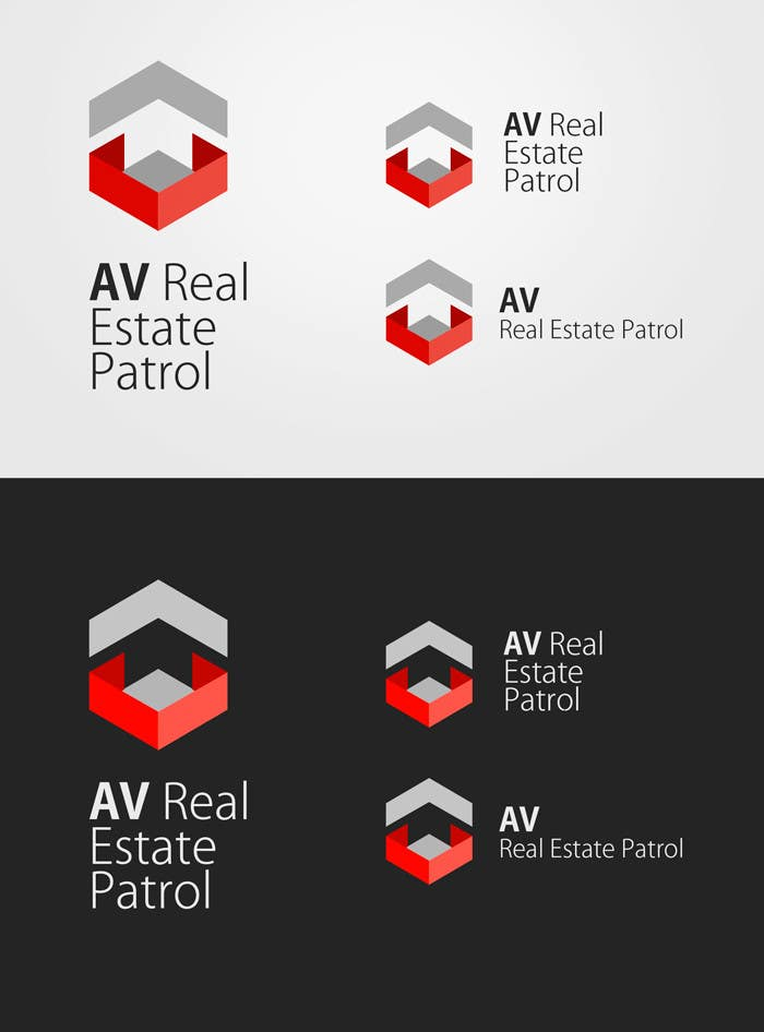 Konkurrenceindlæg #                                        19                                      for                                         Design a Logo for AV Real Estate Patrol