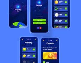 """nº 159 pour Reskin App Design for """"Geography Quiz"""". Contest winner will be awarded full project. par binaliasy"""