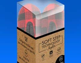 #22 for Innovate packaging design for collection of Slipper Socks af Pulakbindu