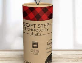 #12 for Innovate packaging design for collection of Slipper Socks af romanwhip