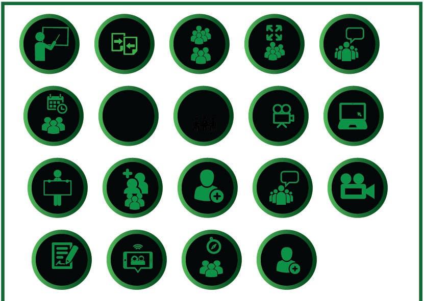 Konkurrenceindlæg #12 for Design some Icons for website