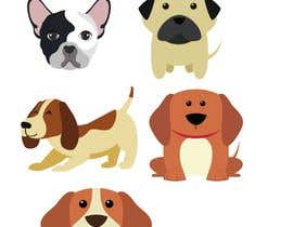 #1 para sticker design of funny or cute cat or dog multiple winners posisble. por shriyaray19