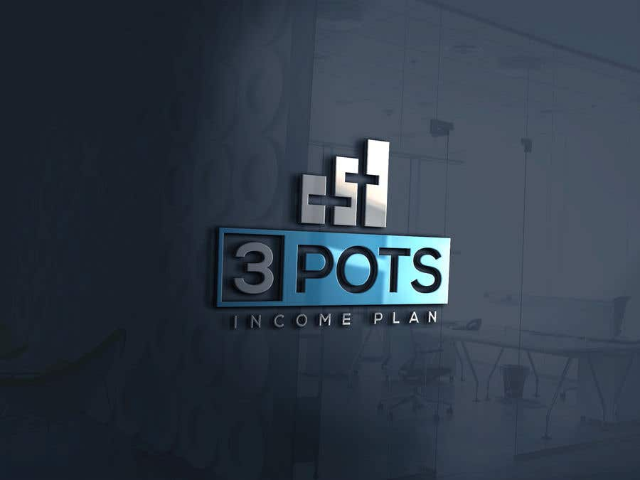 "Contest Entry #                                        199                                      for                                         Logo Design ""3 Pots Income Plan"""