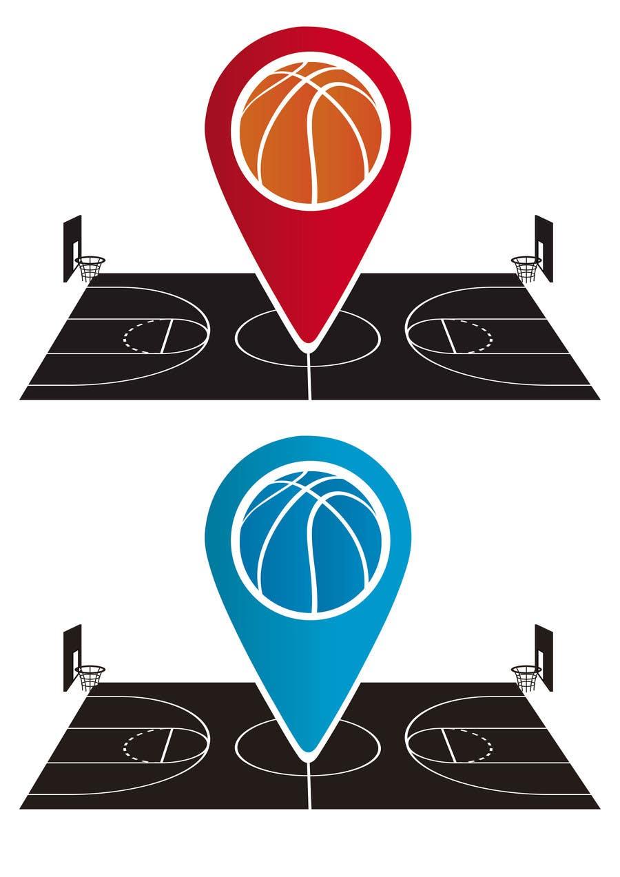 Contest Entry #                                        24                                      for                                         Design a Logo for basketball app