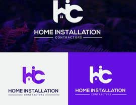 #412 pentru Home Installation Contractors Logo de către masudislamtari12