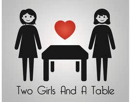 #16 untuk Design a Logo for Two Girls and a Table oleh SatansRealCat