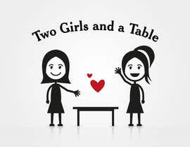 #32 untuk Design a Logo for Two Girls and a Table oleh mwa260387