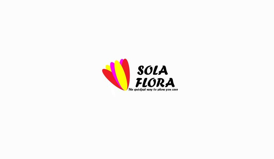 Konkurrenceindlæg #                                        13                                      for                                         Design a Logo for flower shop called sola flora